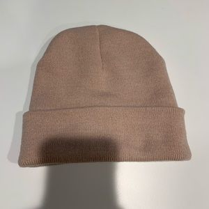 Light pink beanie from Urban Outfitters